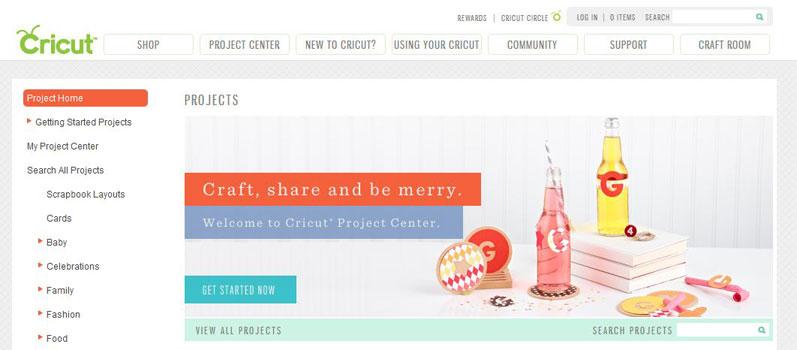 Cricut-Project-Center